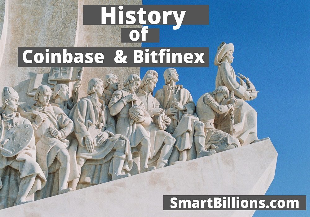 History of coinbase and bitfinex