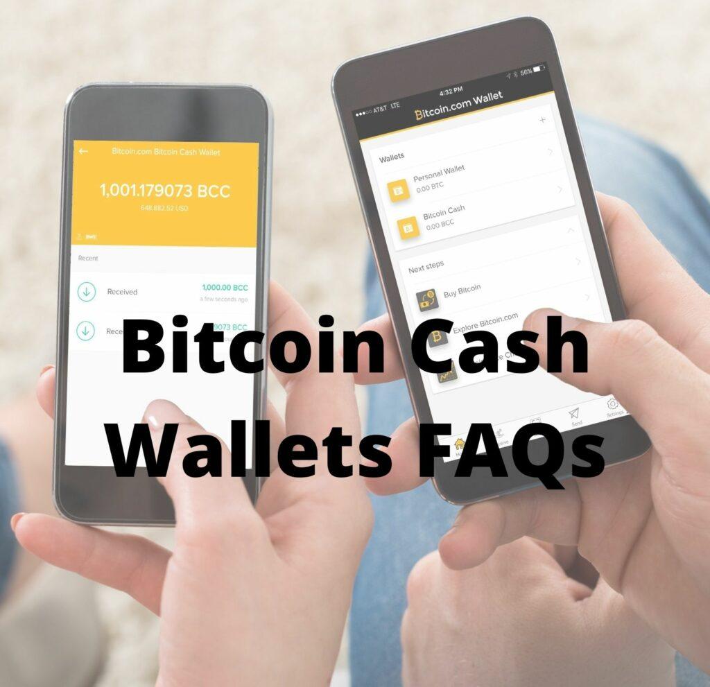 bitcoin cash wallet faq