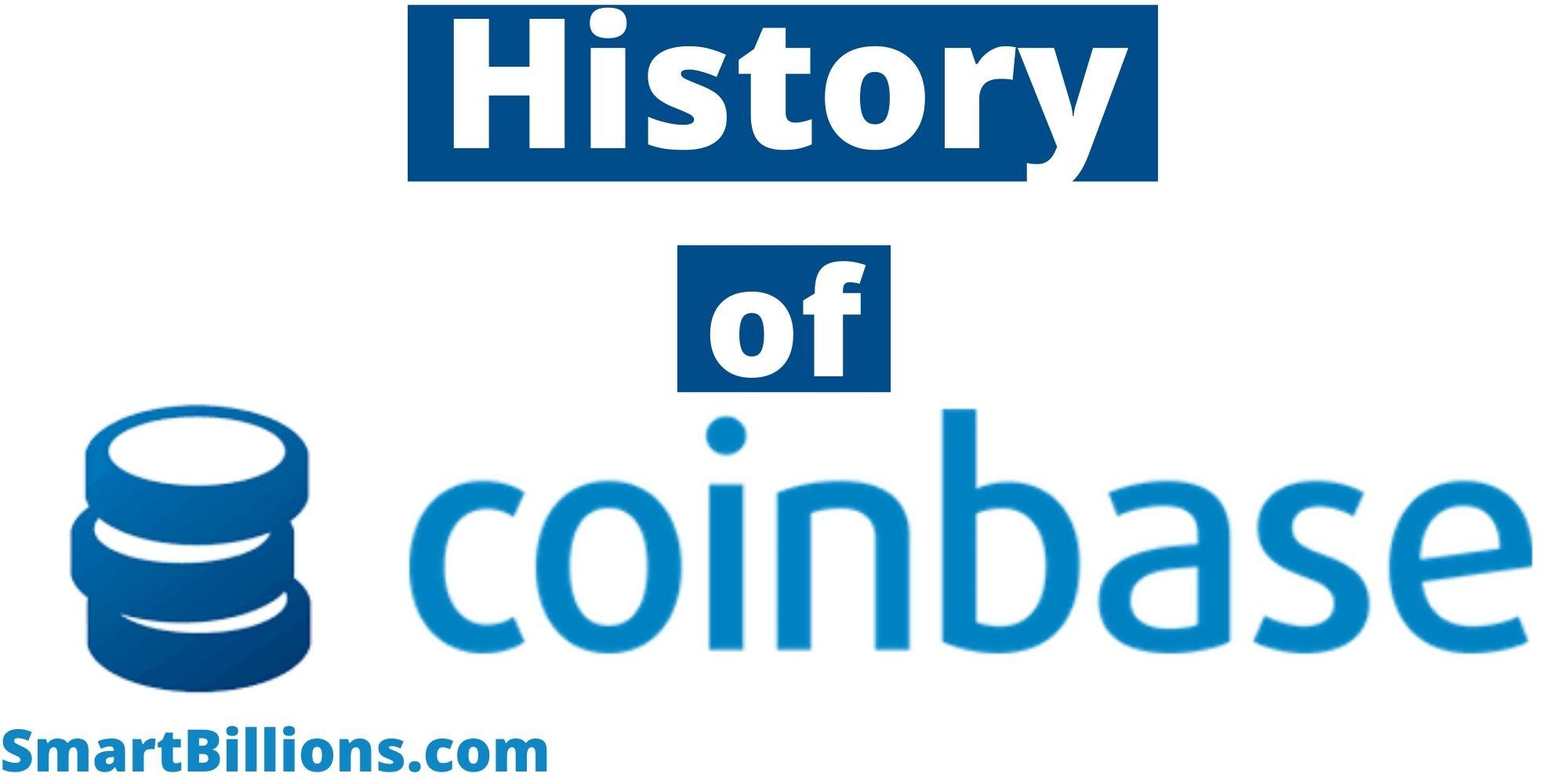 history of coinbase