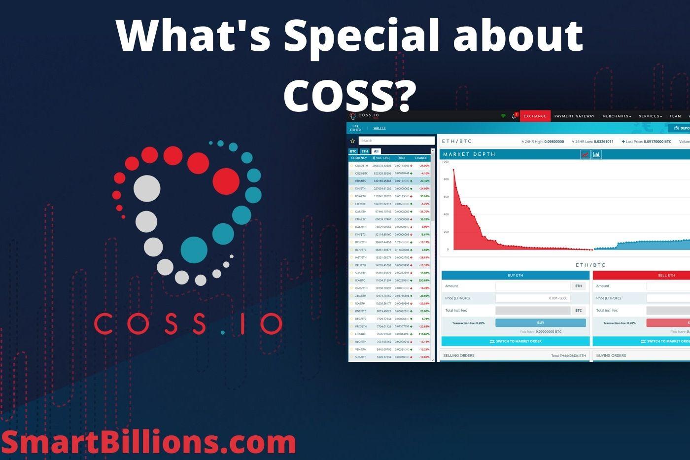 coss exchange review