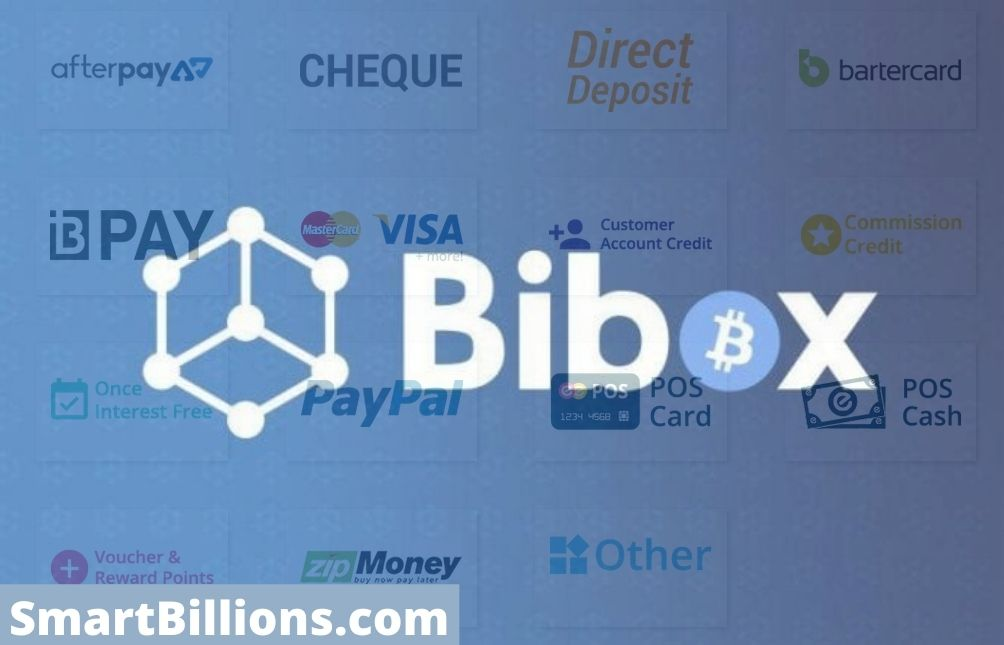bibox payments and withdrawal methods
