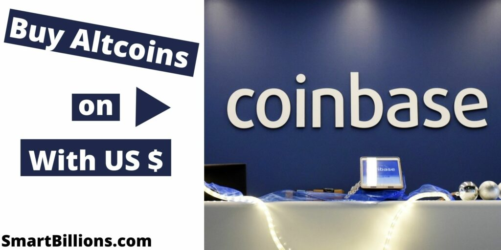 how to buy altcoins on coinbase with USD