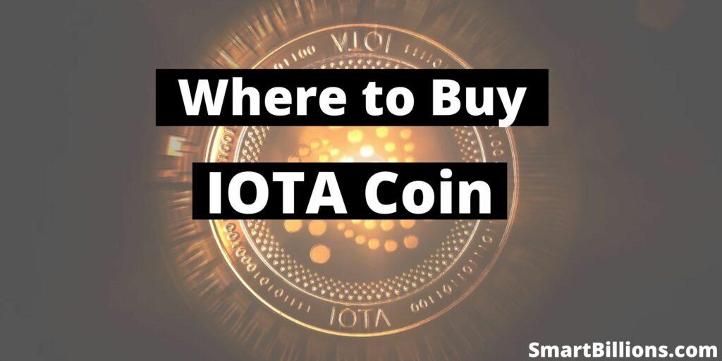 where to buy iota coin