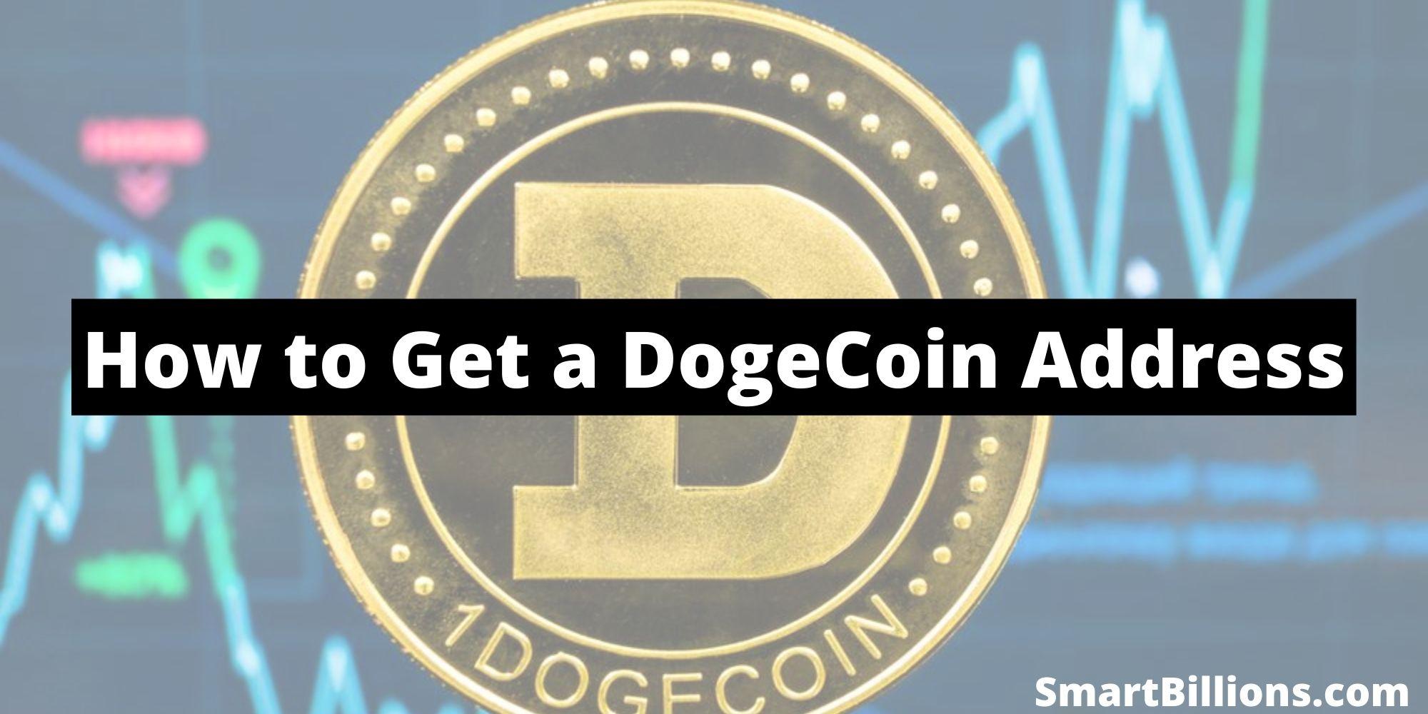 how to get a dogecoin address