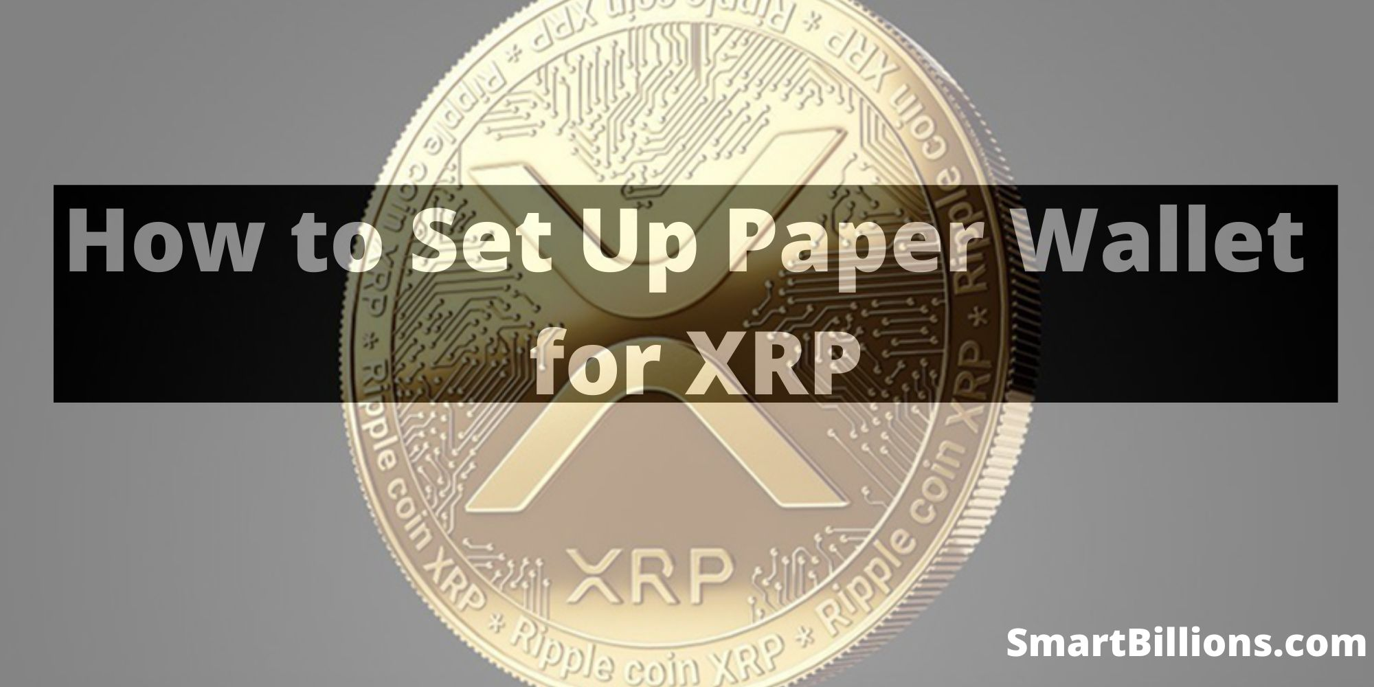 how to set up paper wallet for XRP